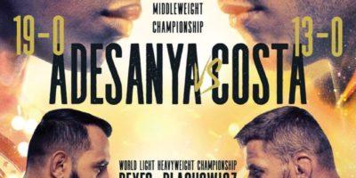 Adesanya vs Costa