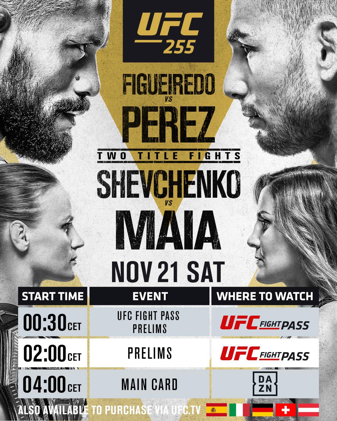 Figueiredo vs Perez Livestream
