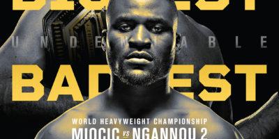 Miocic vs Ngannou 2