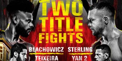 Blachowicz vs Teixeira