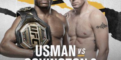 UFC 268 - Usman vs Covington 2