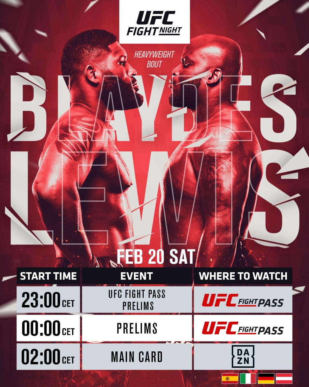 Blaydes vs Lewis