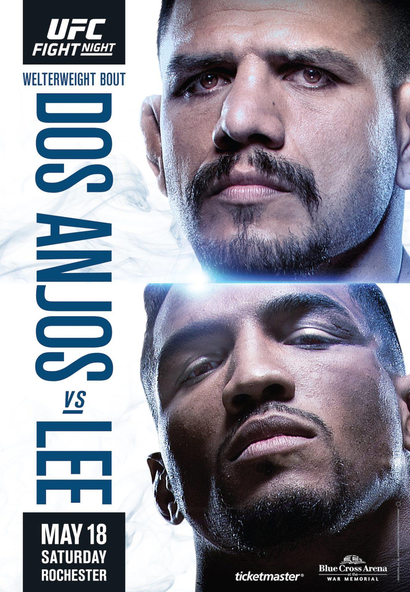UFC - Dos Anjos vs Lee