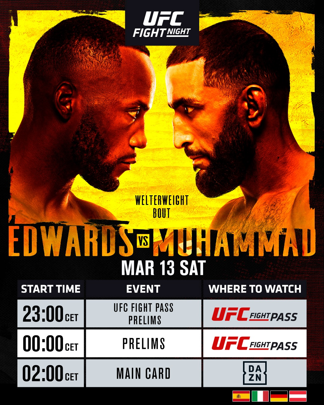 Edwards vs Muhammad LIVESTREAM