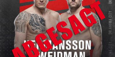 UFC Fight Night - Hermansson vs Weidman