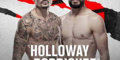 Holloway vs Rodriguez