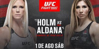 Holm vs Aldana