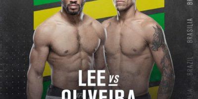 UFC Brasilien - Lee vs Oliveira