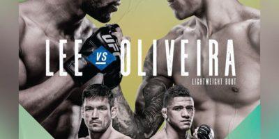Lee vs Oliveira Poster