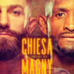 Magny vs Chiesa Poster