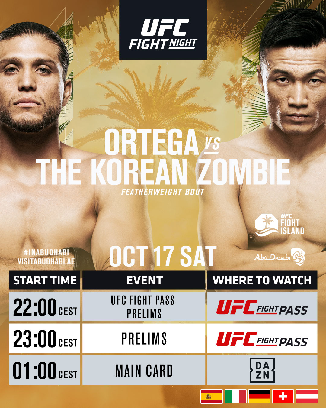 Ortega vs Korean Zombie Livestream