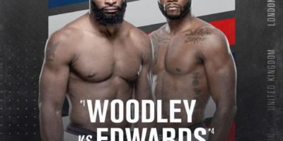 UFC London - Woodley vs Edwards