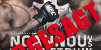 UFC on ESPN - Ngannou vs Rozenstruik