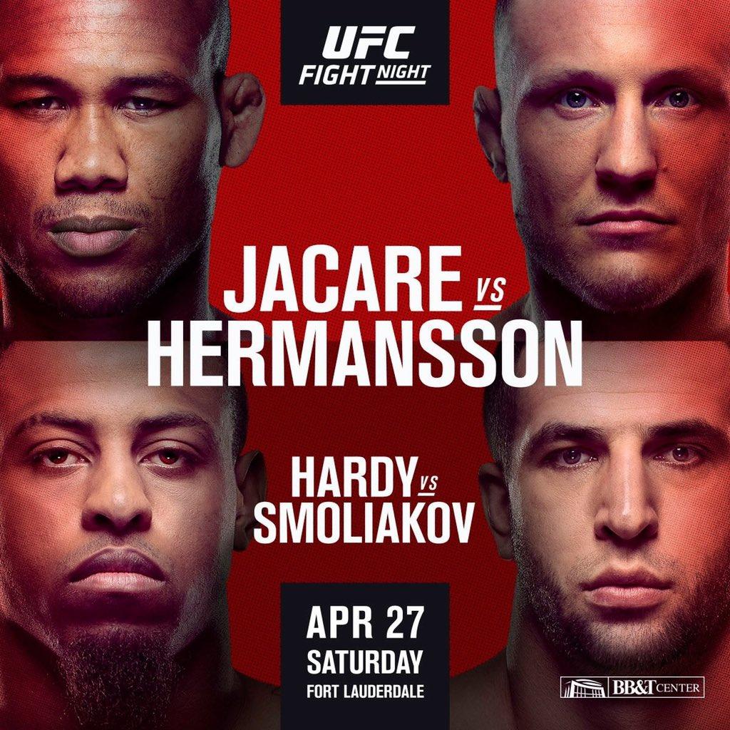 Jacare vs Hermansson