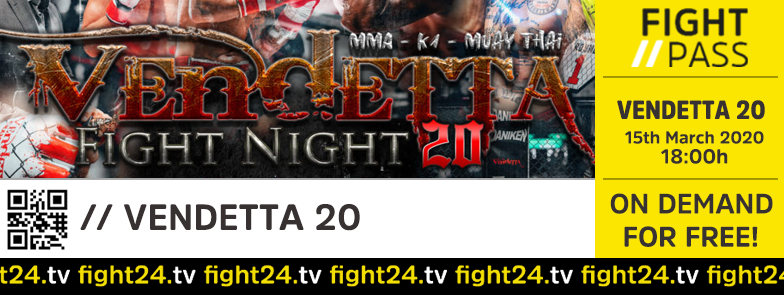 Vendetta 20 - Fight24
