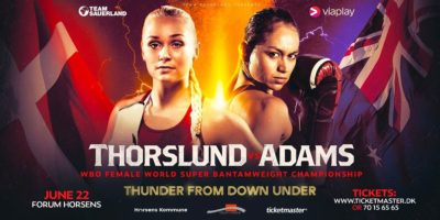 WBO-WM - Dina Thorslund vs April Adams