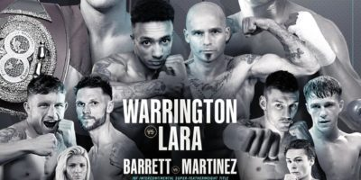 Warrington vs Lara