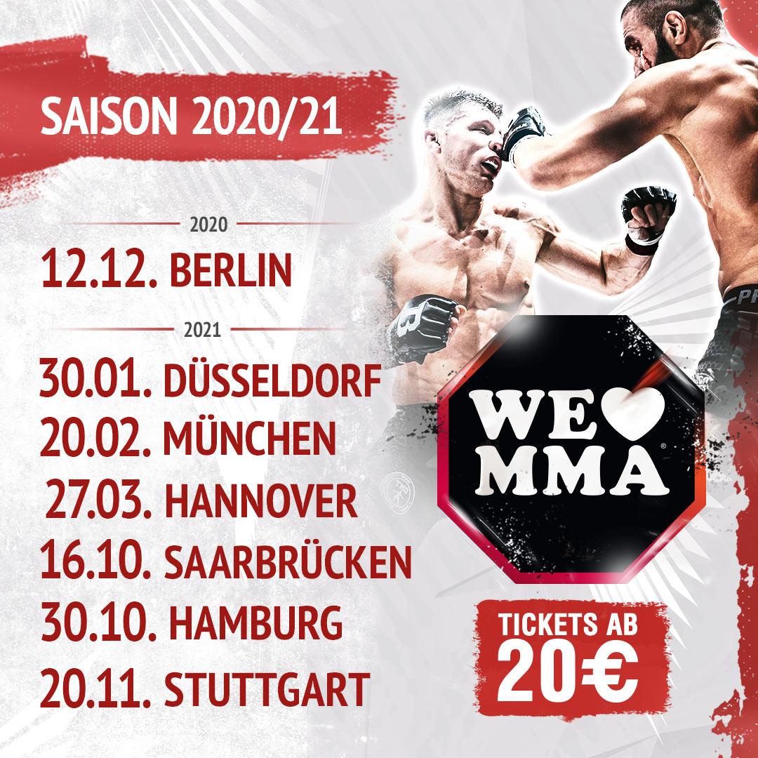 We Love MMA 2021