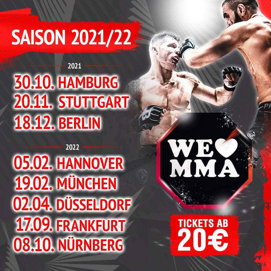 We Love MMA 2021 22