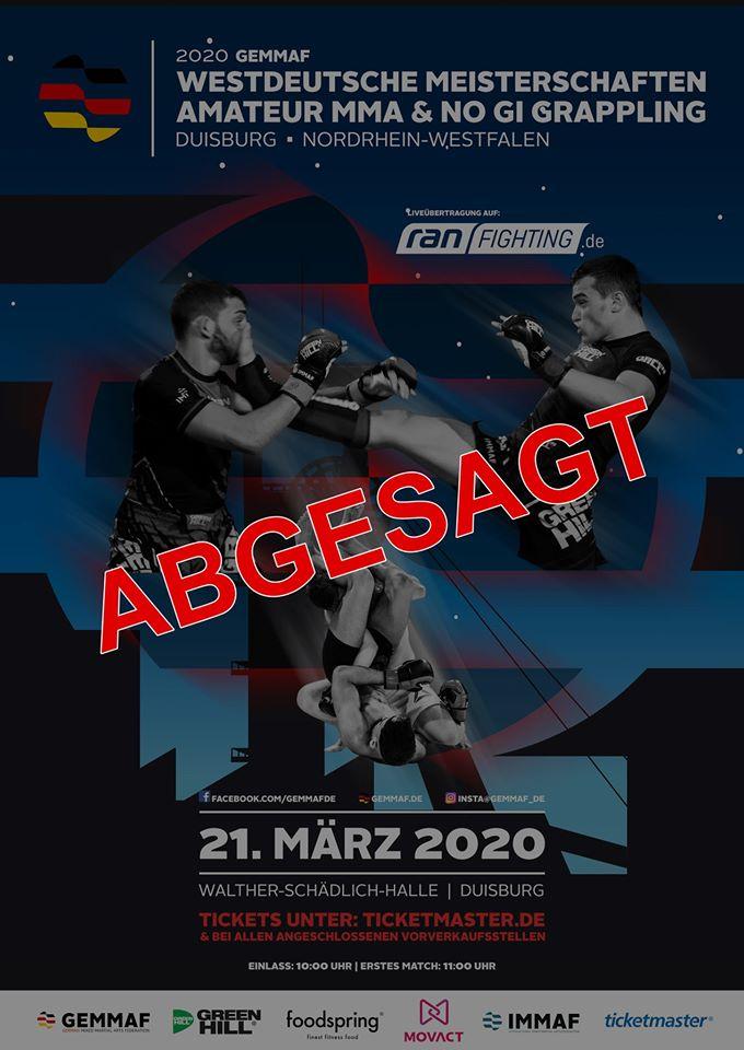 Westdeutsche Meisterschaften 2020