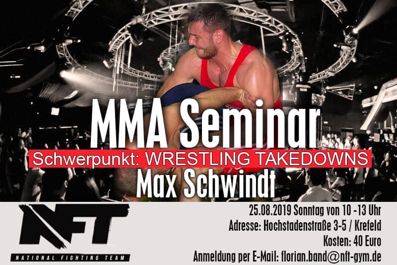 Wrestling Takedowns mit Max Schwindt
